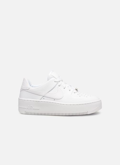 Baskets Nike Wmn Air force 1 Sage Low Blanc vue derrière