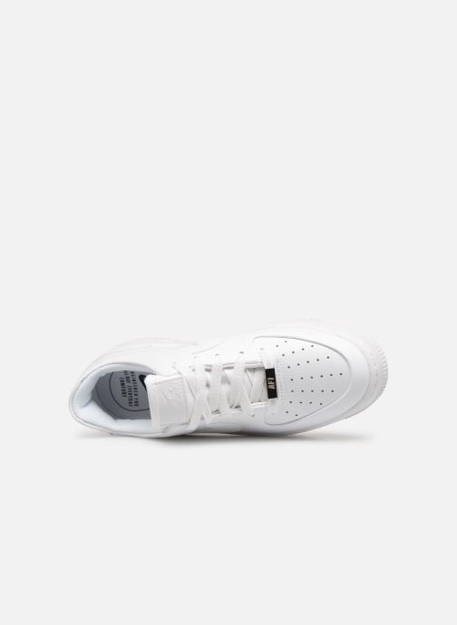 Baskets Nike Wmn Air force 1 Sage Low Blanc vue gauche