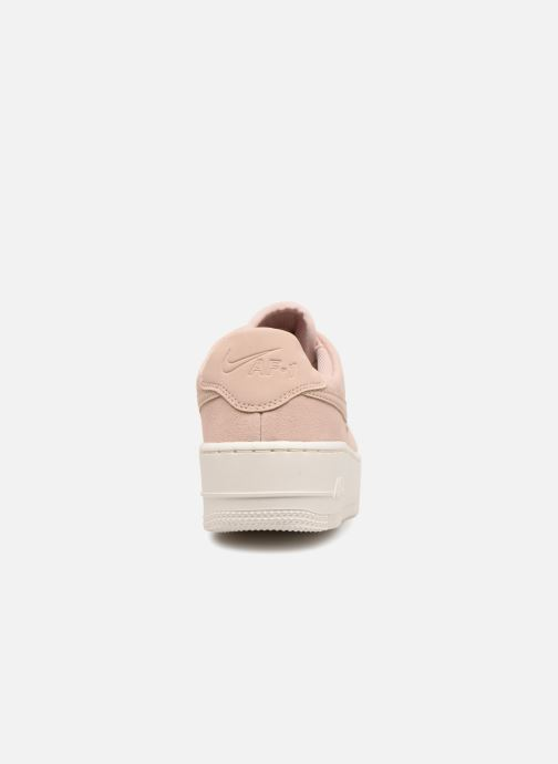 Deportivas Nike Wmn Air force 1 Sage Low Rosa vista lateral derecha