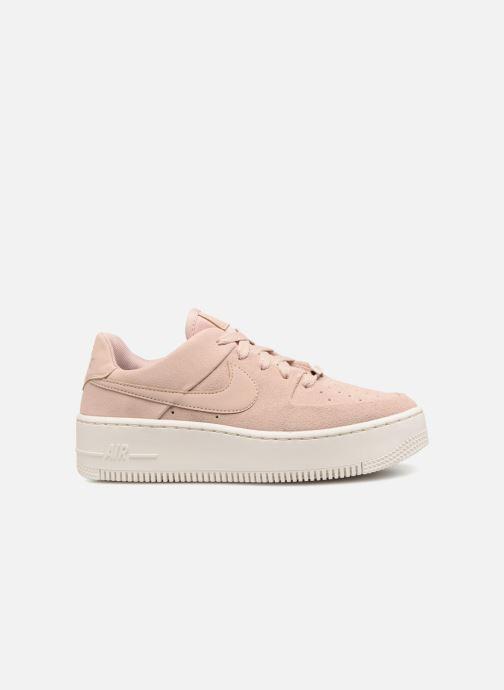 Sneaker Nike Wmn Air force 1 Sage Low rosa ansicht von hinten