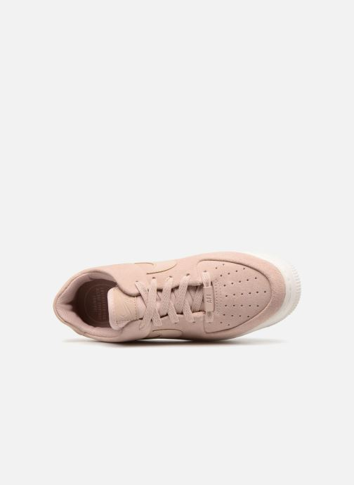 Deportivas Nike Wmn Air force 1 Sage Low Rosa vista lateral izquierda