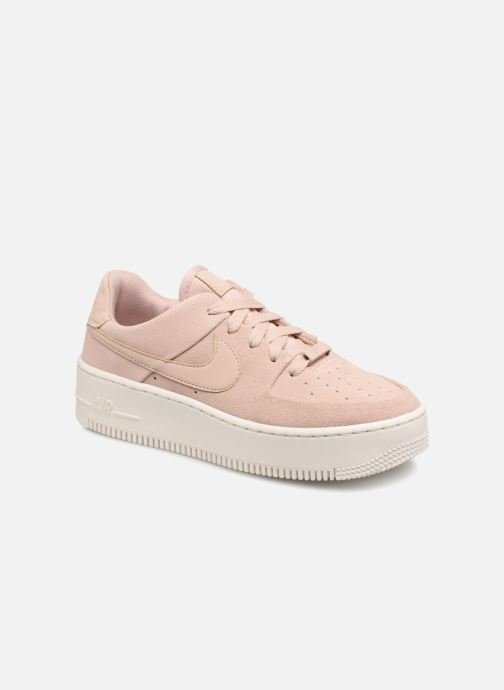 promo code ee5c6 7bf83 Trainers Nike Wmn Air force 1 Sage Low Pink detailed view  Pair view