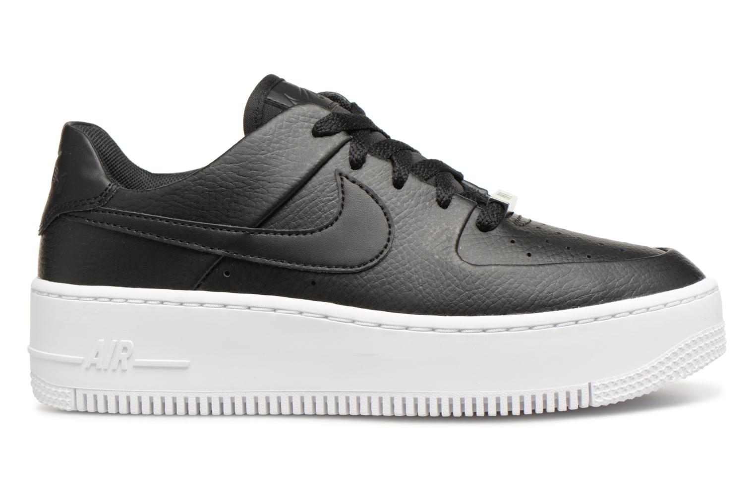 Sneakers Nike Wmn Air force 1 Sage Low Nero immagine posteriore