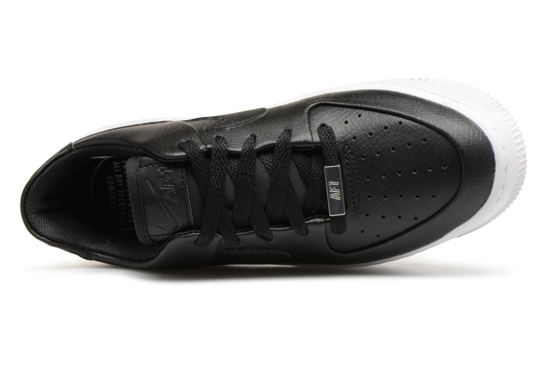 Baskets Nike Wmn Air force 1 Sage Low Noir vue gauche