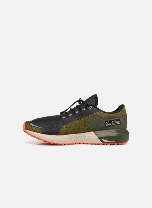 Chaussures de sport Nike Air Zm Structure 22 Shield Gris vue face