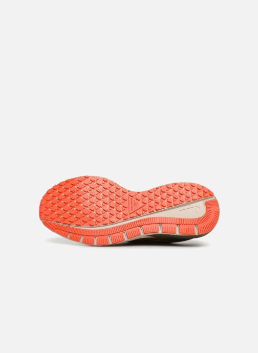 Chaussures de sport Nike Air Zm Structure 22 Shield Gris vue haut