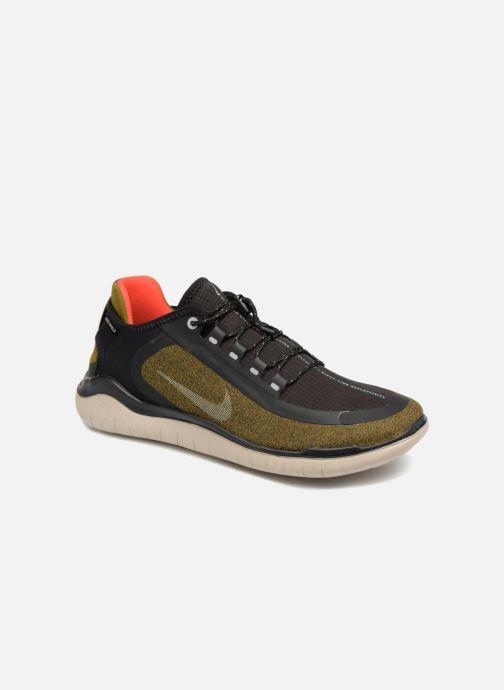 Chaussures de sport Nike Nike Free Rn 2018 Shield Vert vue détail/paire