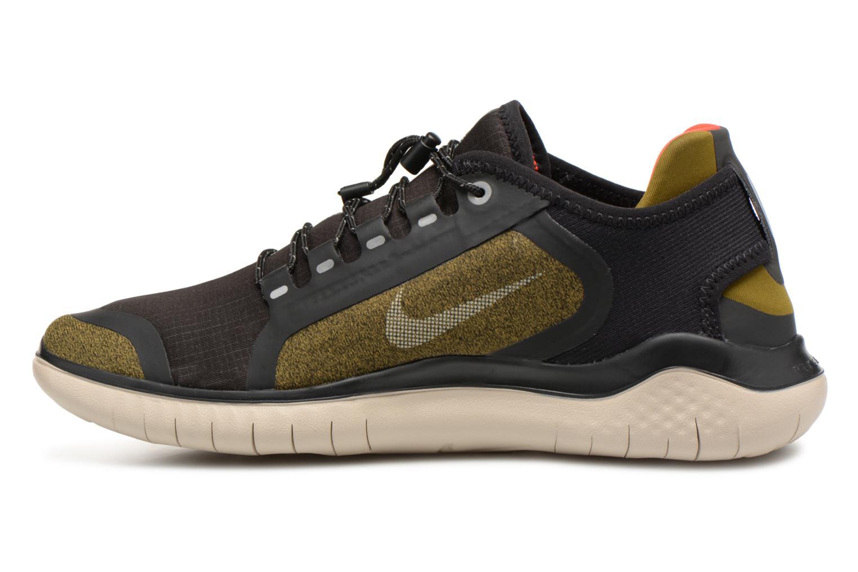Chaussures de sport Nike Nike Free Rn 2018 Shield Vert vue face