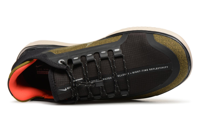 Chaussures de sport Nike Nike Free Rn 2018 Shield Vert vue gauche