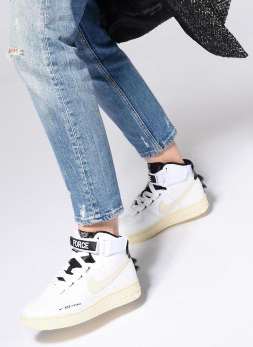 Sneakers Nike W Af1 Hi Ut Bianco immagine dal basso