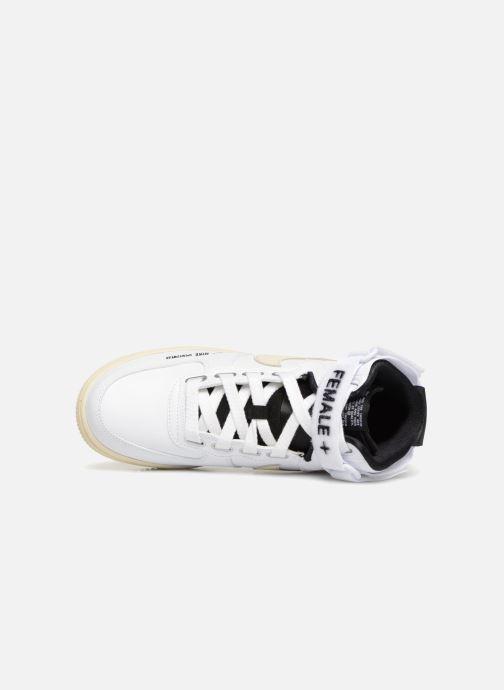 Sneakers Nike W Af1 Hi Ut Bianco immagine sinistra