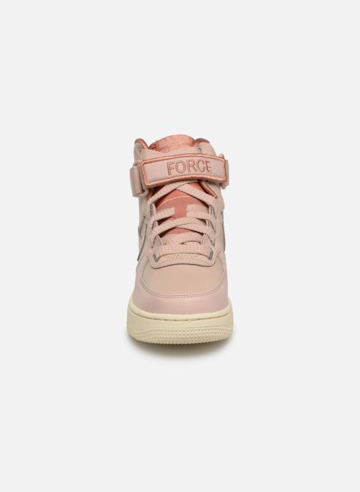 Sneaker Nike W Af1 Hi Ut rosa schuhe getragen
