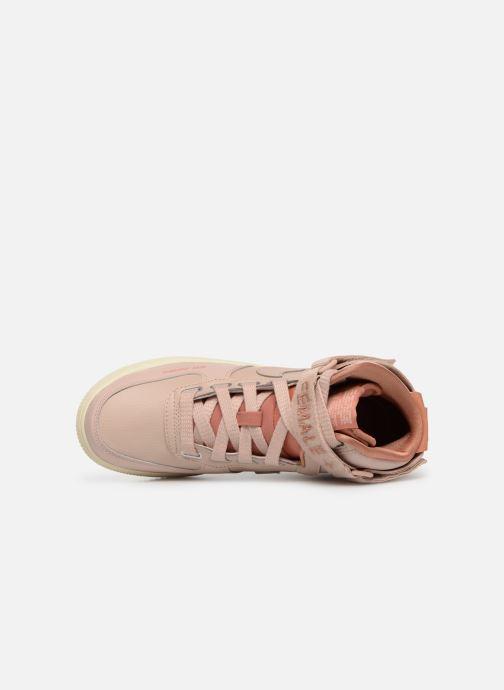 Sneaker Nike W Af1 Hi Ut rosa ansicht von links