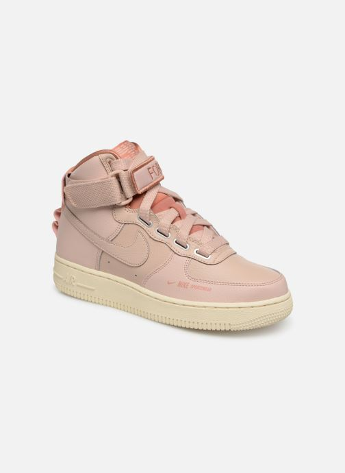 Trainers Nike W Af1 Hi Ut Pink detailed view/ Pair view