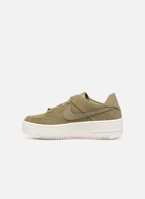 Trainers Nike W Air force 1 Sage Low Green front view