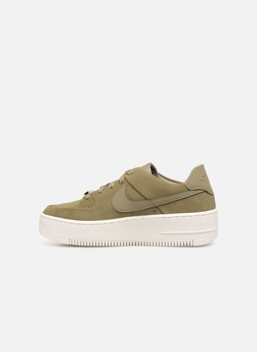Sneakers Nike W Air force 1 Sage Low Verde immagine frontale