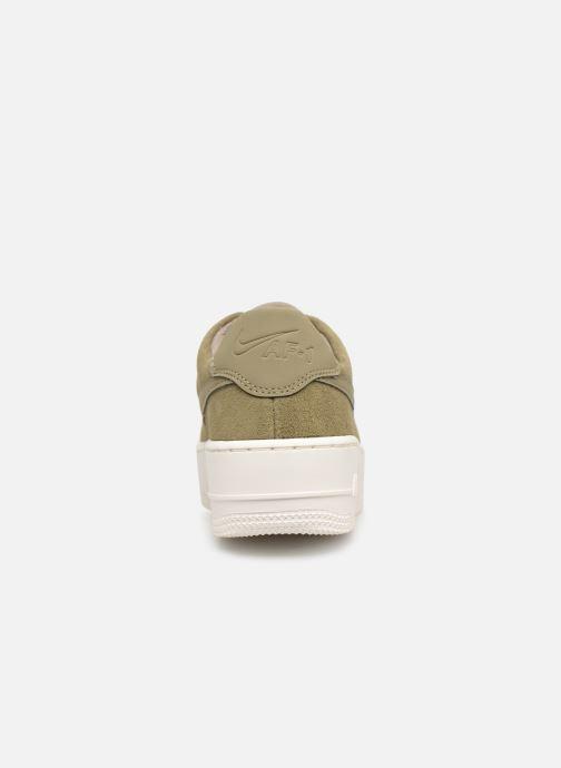 Nike W Air force 1 Sage Low (Vert) Baskets chez Sarenza