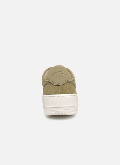 Trainers Nike W Air force 1 Sage Low Green view from the right