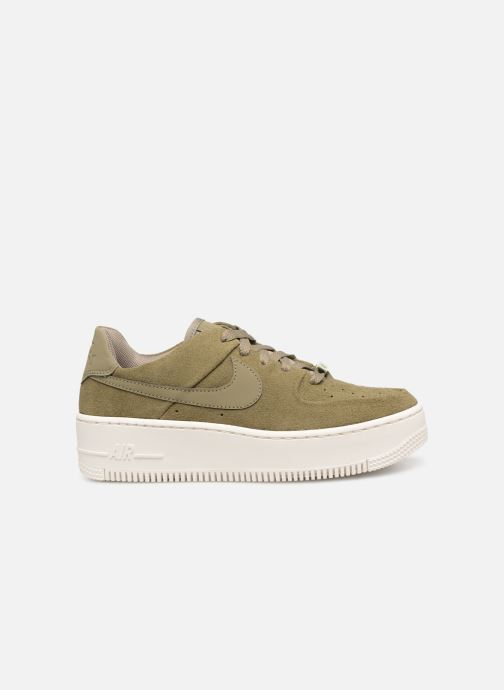 Trainers Nike W Air force 1 Sage Low Green back view