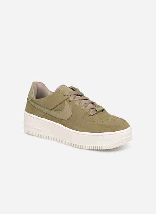 Deportivas Nike W Air force 1 Sage Low Verde vista de detalle / par