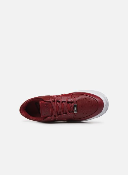 Baskets Nike W Air force 1 Sage Low Rouge vue gauche