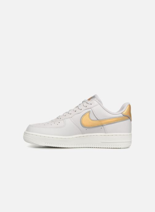 Sneakers Nike Wmns Air Force 1 '07 Mtlc Bianco immagine frontale