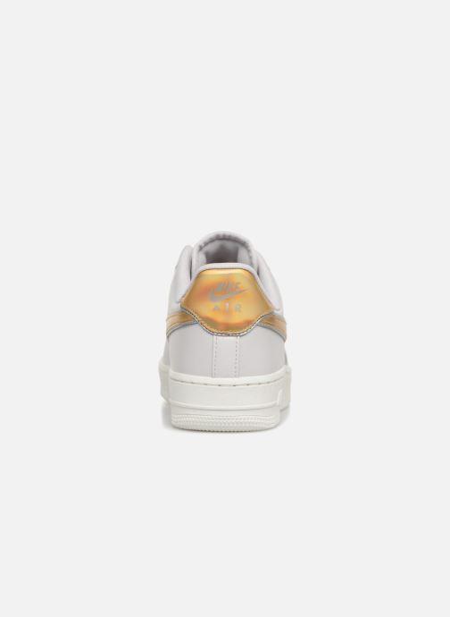 Baskets Nike Wmns Air Force 1 '07 Mtlc Blanc vue droite