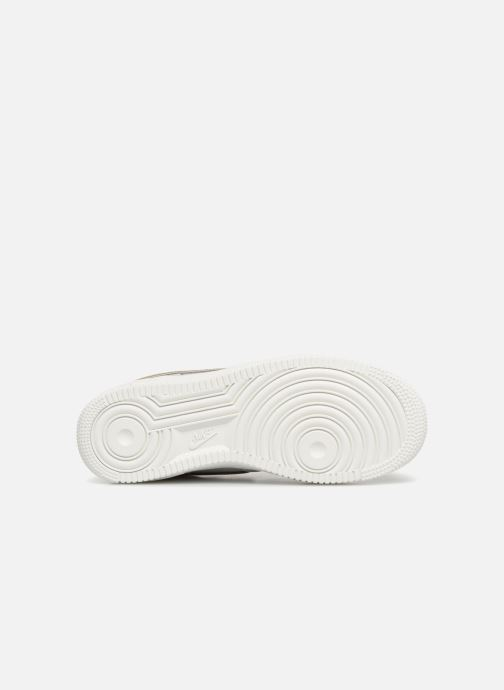 Sneakers Nike Wmns Air Force 1 '07 Mtlc Bianco immagine dall'alto