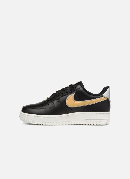 Sneakers Nike Wmns Air Force 1 '07 Mtlc Nero immagine frontale