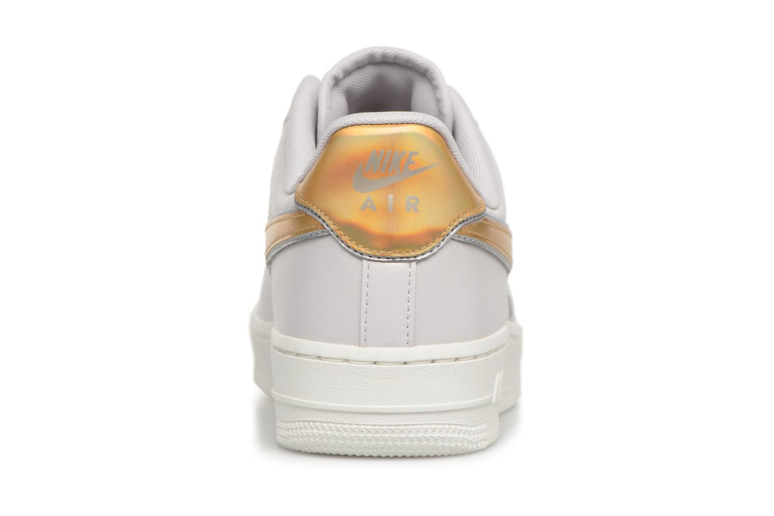 Sneakers Nike Wmns Air Force 1 '07 Mtlc Bianco immagine destra