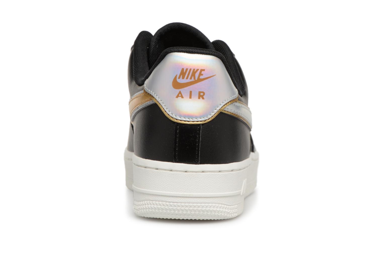Baskets Nike Wmns Air Force 1 '07 Mtlc Noir vue droite