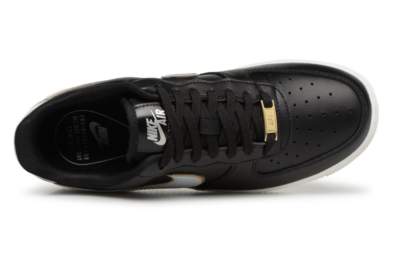 Baskets Nike Wmns Air Force 1 '07 Mtlc Noir vue gauche