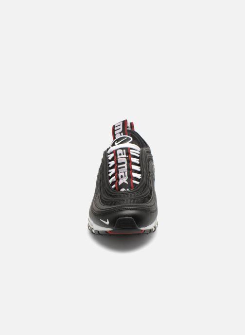 Baskets Nike Nike Air Max 97 Premium Noir vue portées chaussures