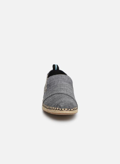 Espadrilles TOMS Deconstructed Alpargata Rope Gris vue portées chaussures