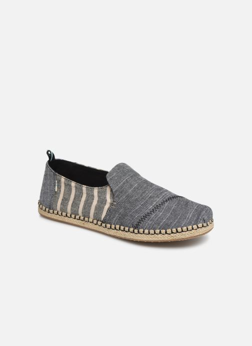 Espadrilles TOMS Deconstructed Alpargata Rope Grey detailed view/ Pair view