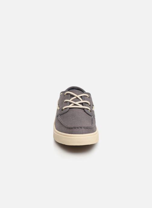 Chaussures à lacets TOMS Dorado Gris vue portées chaussures