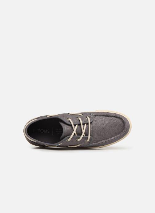 Chaussures à lacets TOMS Dorado Gris vue gauche
