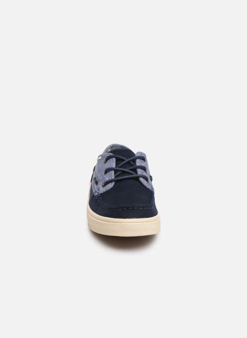 Zapatos con cordones TOMS Dorado Azul vista del modelo