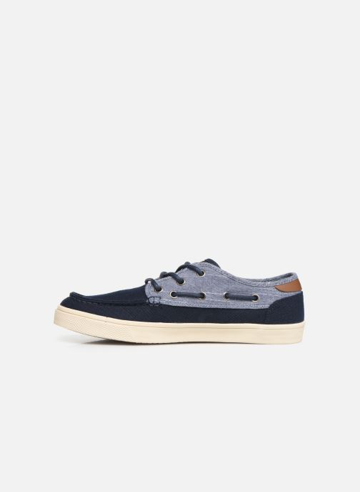 Zapatos con cordones TOMS Dorado Azul vista de frente