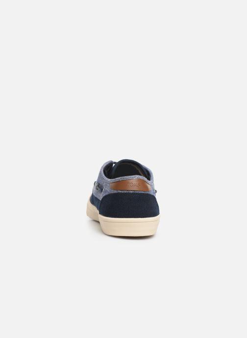 Chaussures à lacets TOMS Dorado Bleu vue droite