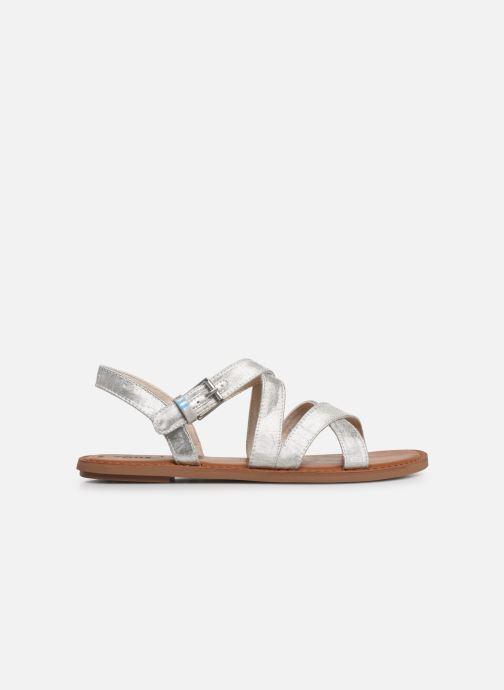 Sandalen TOMS Sicily Zilver achterkant