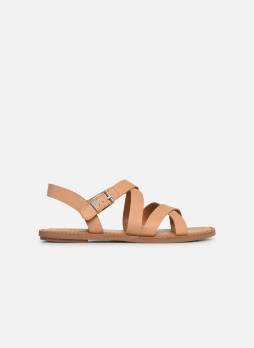 Sandales et nu-pieds TOMS Sicily Beige vue gauche