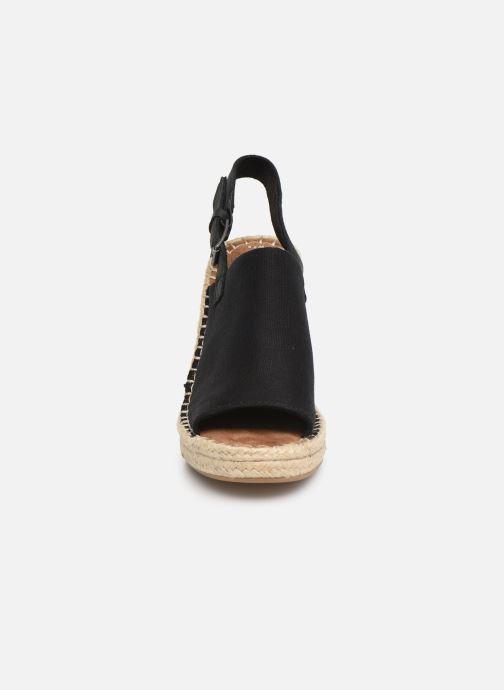 Espadrilles TOMS Monica Noir vue portées chaussures