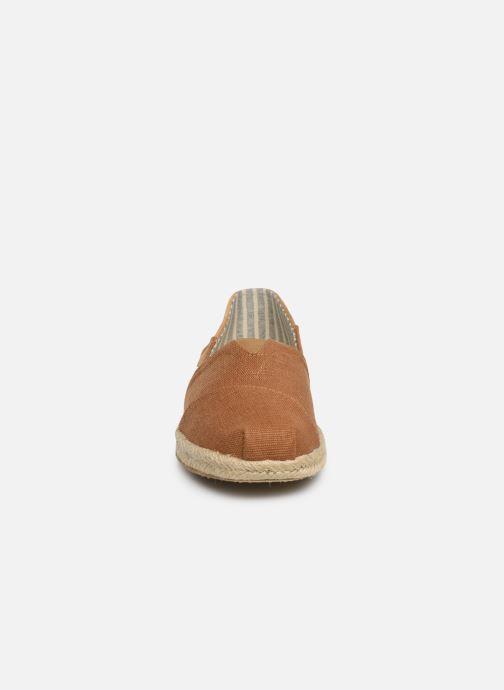 Espadrilles TOMS Alpargata Convertible on Rope Marron vue portées chaussures