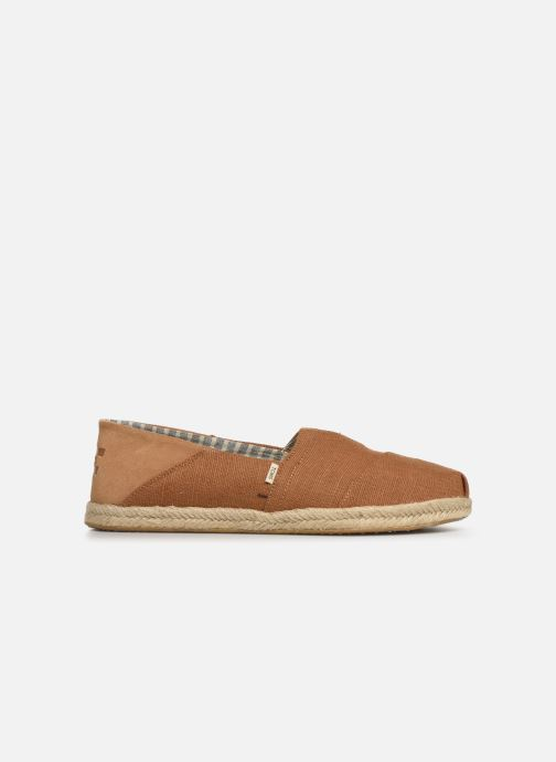 Espadrilles TOMS Alpargata Convertible on Rope Brown back view