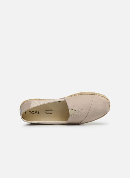Espadrilles TOMS Alpargata M Grey view from the left