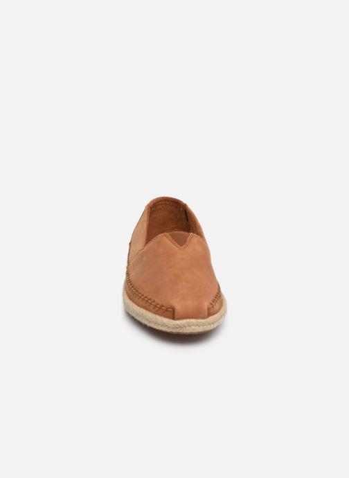 Espadrilles TOMS Alpargata on Rope Marron vue portées chaussures