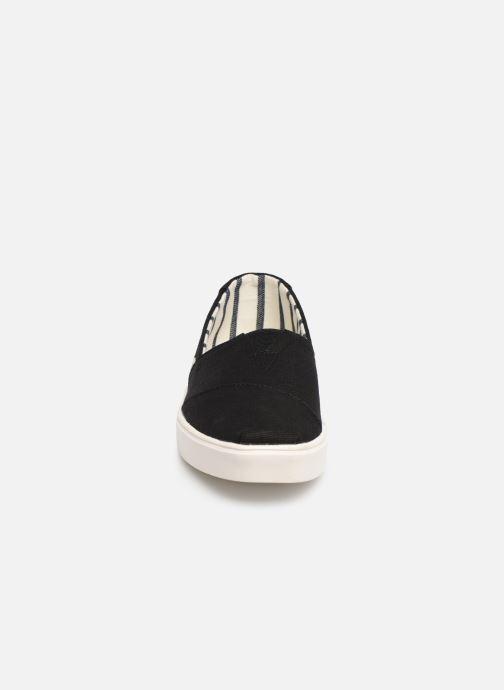 Baskets TOMS Alpargata Cupsole Noir vue portées chaussures