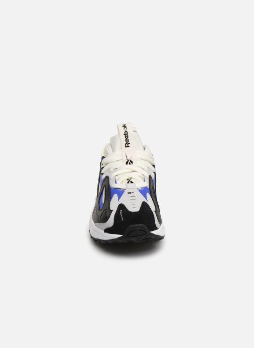 Baskets Reebok Dmx Series 1200 Lt Blanc vue portées chaussures
