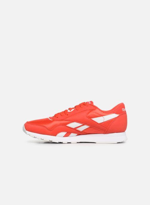 Sneaker Reebok Classic Nylon Color rot ansicht von vorne